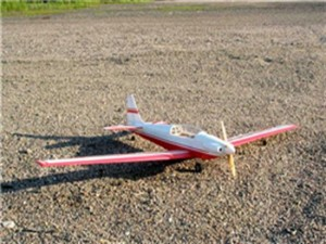 2.4G 4CH Fournier rf5 Scale Balsa rc airplane (PNP)