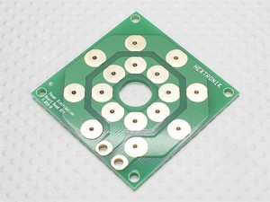 Multi-Rotor Power Distribution Board (DIY 8 x output PCB)