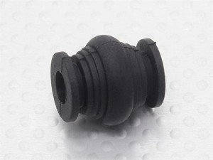 Camera mount vibration dampener ball for FPV models