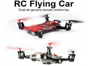 2-in-1 8 Channel 2.4GHz 6 Axis RC Flying Car Quadcopter RTF