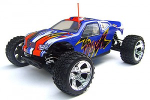 Racing 1/10 Nitro Onslaught 4WD Off Road Truck SH18 Engine Taiwan