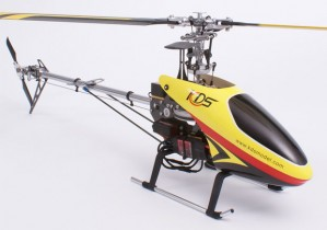 KDS 450 Quiet 6CH RC Helicopter RTF 2.4GHz w/ Aluminium Case