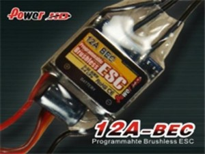 Power HD 12A Programmable Brushless Motor ESC