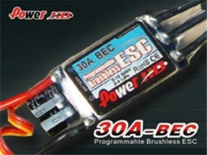 Power HD 30A Programmable Brushless Motor ESC