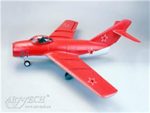 PNP 64mm Art-Tech 4 Channel MiG-15 3D Radio Remote Control Electric Ducted Fan RC Fighter Jet