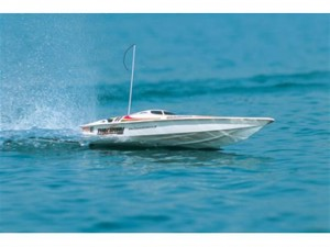 40031VE 1/20 Scale EP RACING BOAT TWINSTORM Readyset