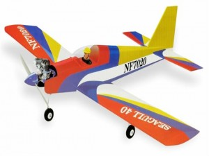 Seagull Nitro Powered Engine Balsa 40 LOW WING SPORT (VALUE)