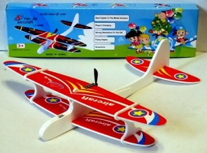 DIY Hand Throw Flying USB Electric Power Motor Glider Planes Foam Aeroplane
