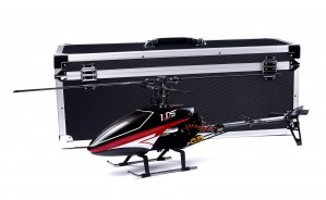 KDS 450C 6CH RC Helicopter (ARF) FULLY ASSEMBLED w/ Brushless Motor, Aluminum Case