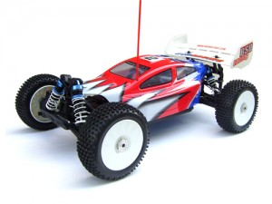 1/8th Nitro Buggy / 3.5CC Nitro Engine / 3.0MM 6061 Chassis / 4 Wheel Drive / 2-Speed / 3 diff