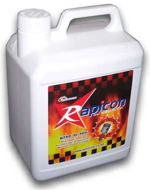 Airplanes Rapicon 15% Nitro, 18% Lube 1 Gallon (4.54 Lts)