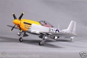 FMS 800MM P51 MUSTANG V2 RC AIRPLANE STANDARD RTF WITH FMS3X DURABLE EPO FOAM